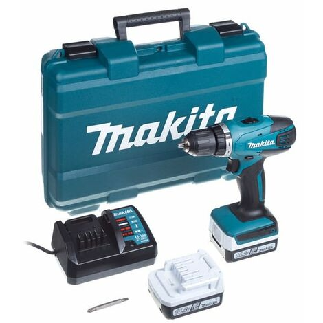 Taladro atornillador Makita DF347DWE 14,4V 1.5Ah