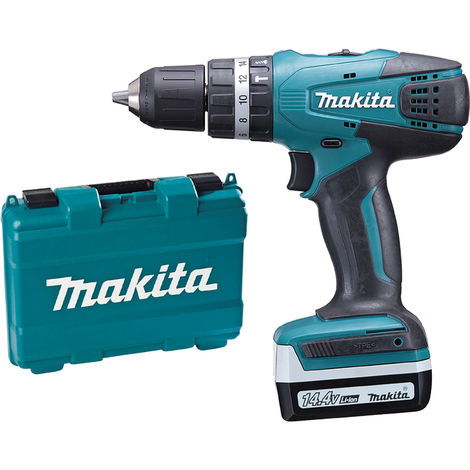 Taladro atornillador Makita HP347DWE 14,4V 2Bat 1,3AH