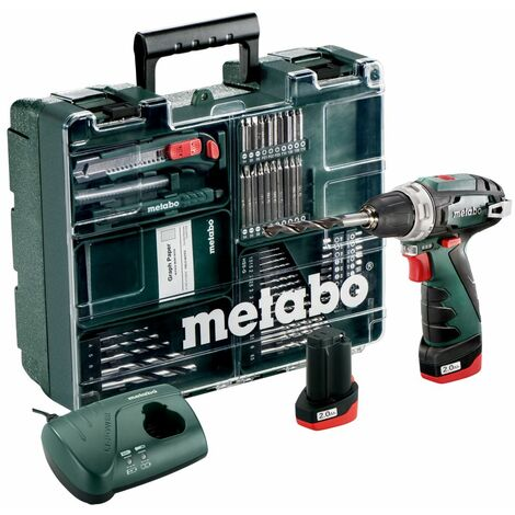 Taladro atornillador Metabo PowerMaxx BS Set