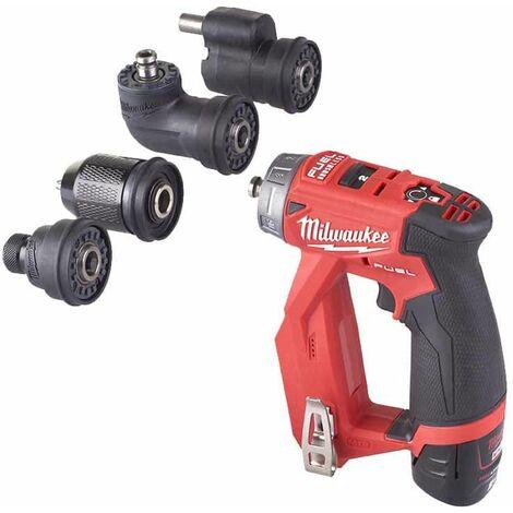 MILWAUKEE M12 FUEL FPDXKIT-202X destornillador - 2 baterías 2.0 Ah - 1 cargador 4933464979