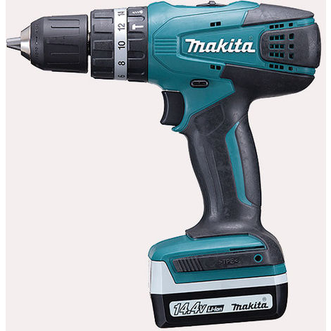 Taladro Combinado 14,4V Litio-ion Makita HP347DWE
