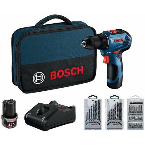 Taladro con accesorios Bosch GSR 12V-30