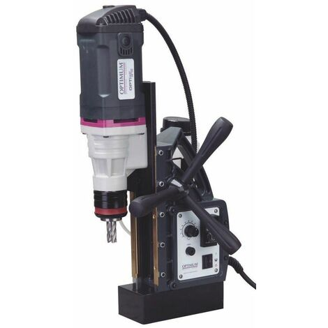 Taladro con variador de velocidad 1,55 kW / 230 V OPTIMUM DM 35V