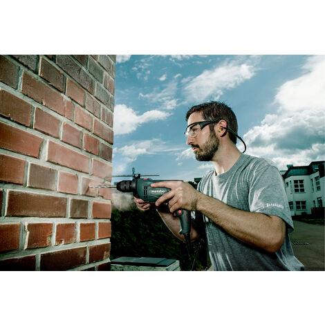 Taladro de impacto Metabo SBE 650 SET incluye juego de accesorios en estuche - 650W