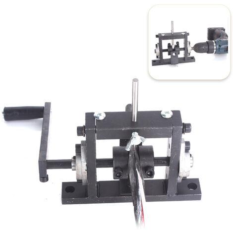 Taladro electrico manual, maquina peladora de cables de doble proposito