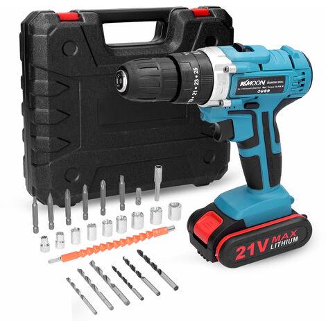 Taladro electrico multifuncional 3 en 1 para el hogar, mini destornillador