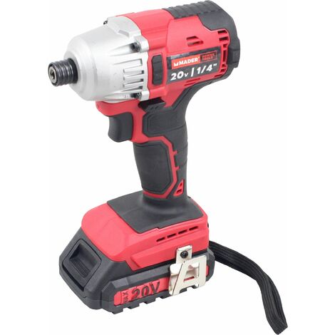 Taladro Impacto sin Cordón, 200Nm, 20V - MADER® | Power Tools