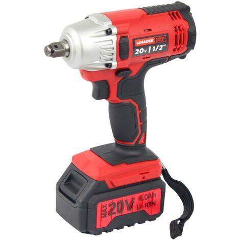 "Taladro Impacto sin Cordón, 430Nm, 20V, 1/2"" - MADER®   Power Tools"
