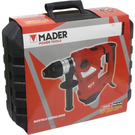 Taladro Martillo Perforador 3 Funciones 1800W