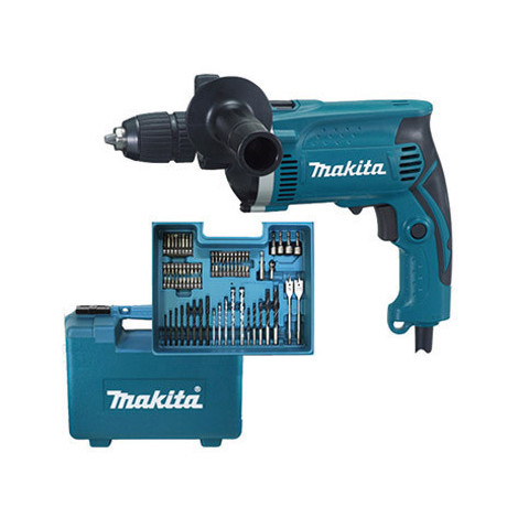 Taladro Percutor 13Mm+M+Acc 710 W - MAKITA - HP1631KX3