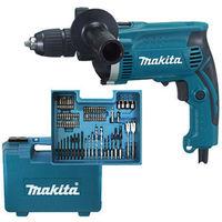Taladro Percutor 13Mm+M+Acc 710 W - MAKITA - HP1631KX3