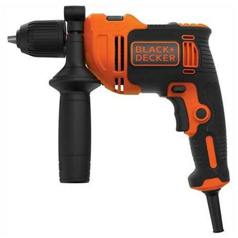 Taladro percutor 550W BEH550-QS Black+Decker