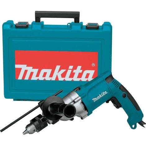 Taladro percutor 720w 2.5 kg 1200-2900 rpm portabrocas con llave con maletin - MAKITA - Ref: HP2050