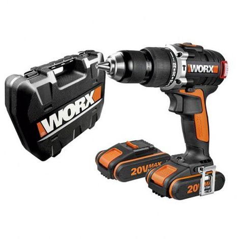 Taladro percutor batería brushless wx373 worx - talla