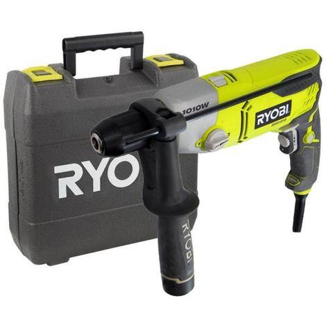Taladro percutor de 1 010 W - suministrado en maletín RYOBI RPD1010K