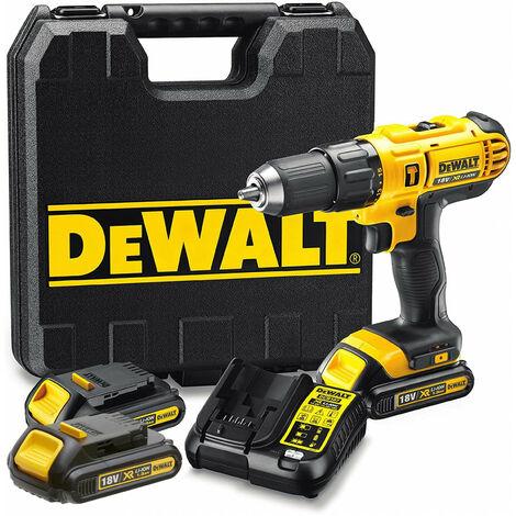 Taladro percutor Dewalt DCD776C3 - XR 18 V 3 bat. 1,3 Ah con maletín