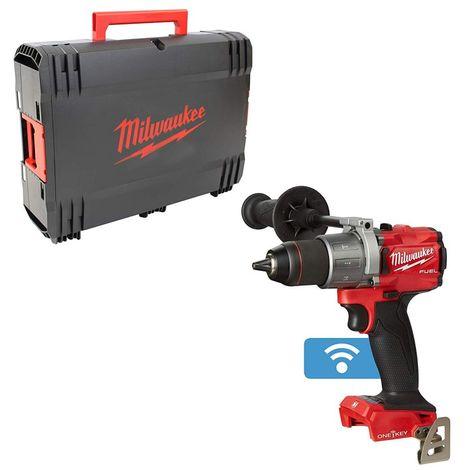 Taladro percutor M18 FUEL SIN ESCOBILLAS ONE KEY, Red Lithium ver-0 con HD Box-Sin bateria ni cargardor