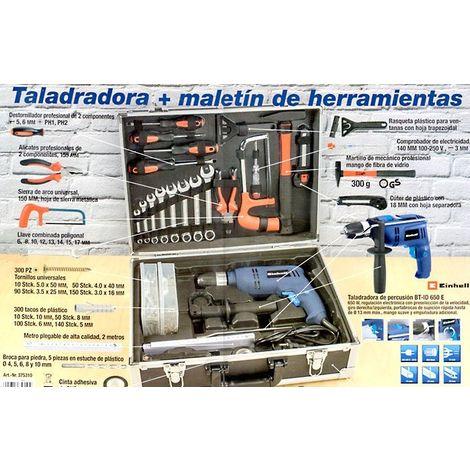 Taladro set (627 piezas) Einhell BT-ID 650E