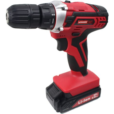 Taladro sin Cordón, 20V, 10mm - MADER® | Power Tools