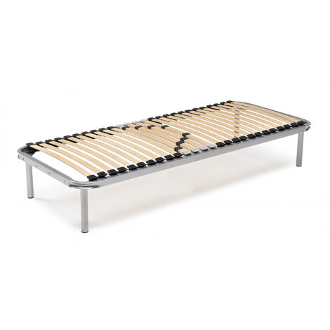 Talamo Italia Orthopaedic bed base with 26 Queen Made in Italy slats