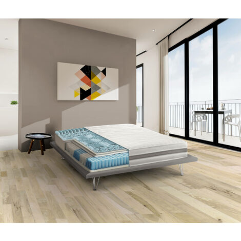 Talamo Italia PANAREA mattress, Pocket springs and Memory 2 cm - h 22 cm
