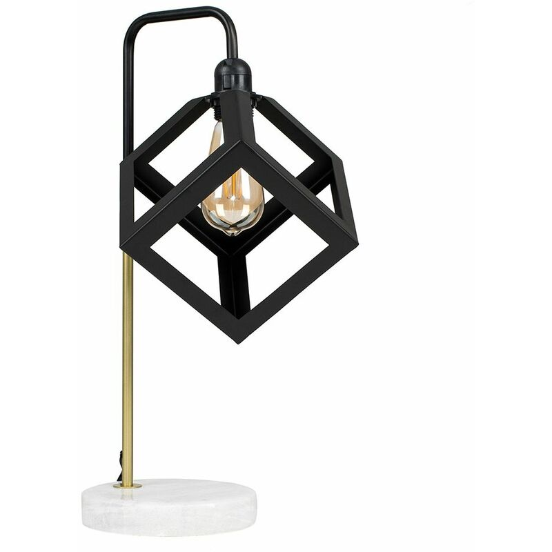 LED Talisman Marble Base Table Lamps