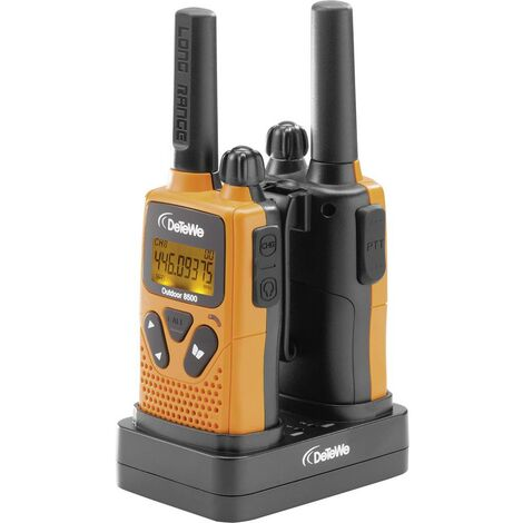 Talkie-walkie PMR DeTeWe Outdoor 8500 208050 jeu de 2 1 pc(s)