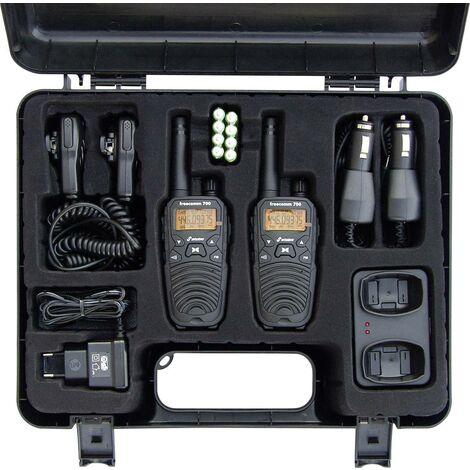 "main image of ""Talkie-walkie PMR Stabo freecom 700 20701 jeu de 2 1 pc(s) W230271"""