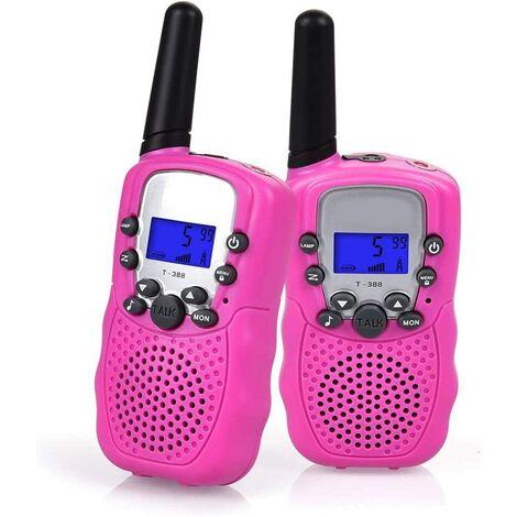 Talkie-walkie Set, Radio Talkie Walkie professionnel pour enfants, portée 1-3KM 8 canaux