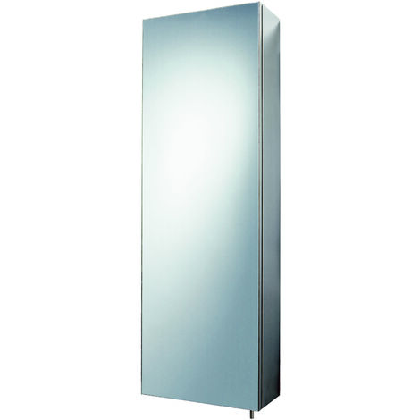 Tall Bathroom Cabinet & Mirror