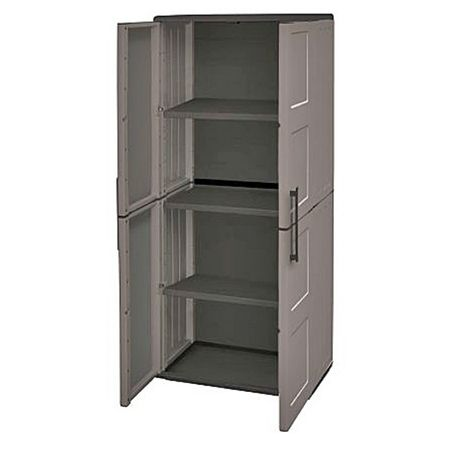 """main image of """"Tall Cabinet Plastic Garden Store Approx 680Lx370Wx1630H"""""""