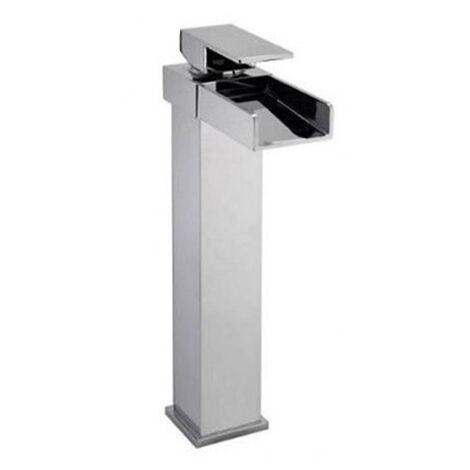 "main image of ""Tall Mono Basin Mixer Tap - Series AO by Voda Design"""