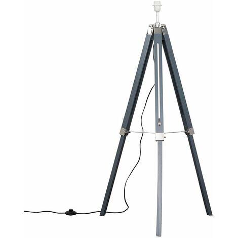 Tall Tripod Floor Lamp Base Light Chrome Lighting