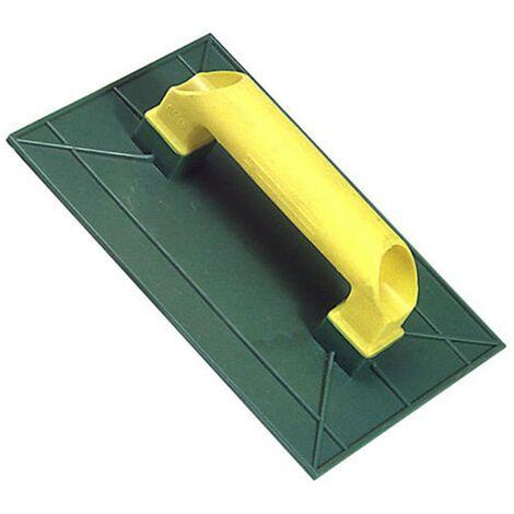 Talocha plástico 275x185 mm. Amarilla Rugosa 275x185 mm.