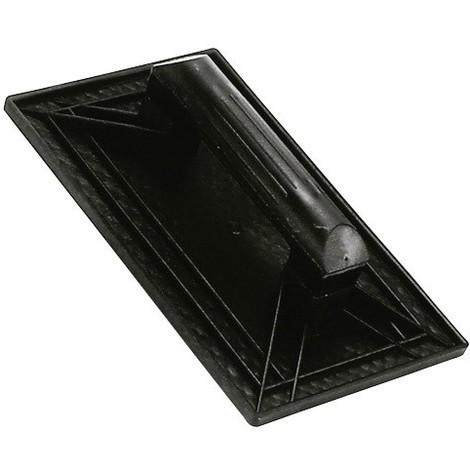 Talocha plástico 27x18 cm mango redondo negra nº 1 - NEOFERR..