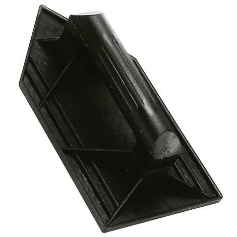 Talocha plástico punta mango redondo 26x14cm negra - NEOFERR..