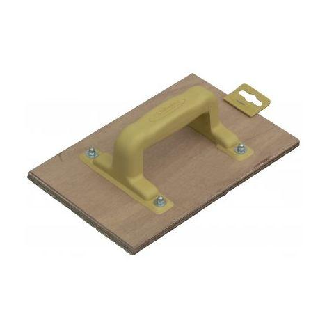 Taloche abrasive pour béton cellulaire 25 x 16,5 cm TALIAPLAST