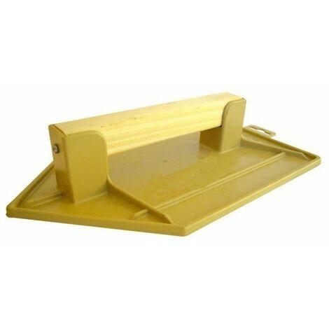 Taloche abs jaune pointue 20 x 13 cm
