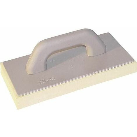Taloche plastique pour joint fine Haromac 280x140x40 mm revetement éponge fine