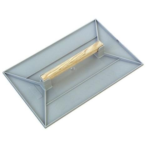 Taloche plastique p.s choc gris rectangulaire 27x18