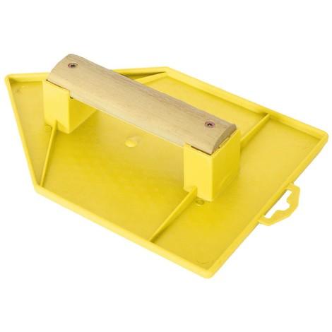 Taloche pro abs jaune pointue 18 x 27 cm - Mob/mondelin