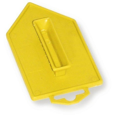Taloche pro abs jaune pointue 8 x 14 cm - Mob/mondelin