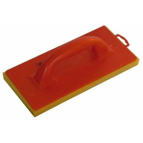 Taloche semelle mousse monobloc orange - 14 x 25 cm