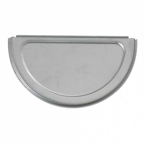 Talon réversible zinc - gris - dév.33cm SCOVER