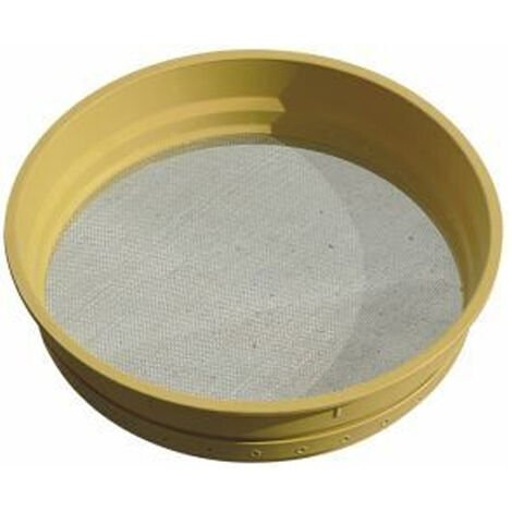Tamiz Criba Plastico | Compacto, Resistente nº8 | Alambre 0,45 mm, Rejilla 2,8 mm