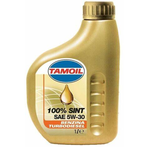 "main image of ""Tamoil 100% sint sae 5w30 olio motore benzina diesel 1 lt sintetico 5w-30"""
