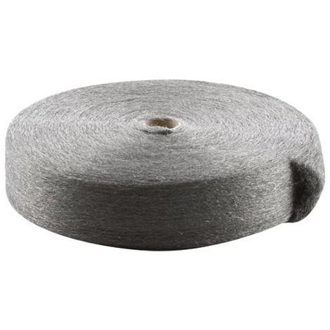 TAMPEL - Laine d'acier rouleau grade 2 - 1Kg