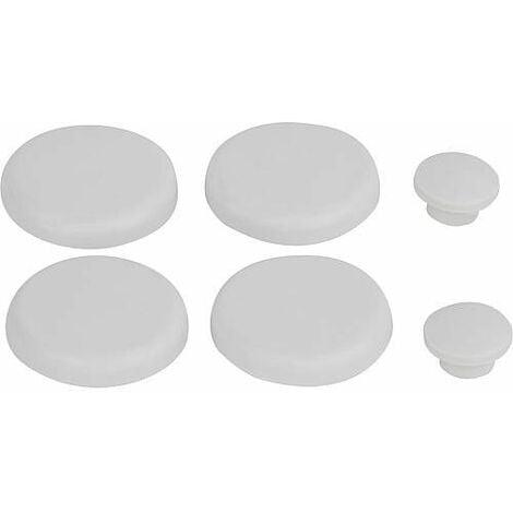 Tampon amortisseur Geberit 1 jeu blanc, pour abattant WC 598094000