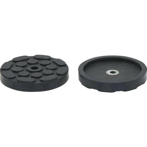 TAMPON CAOUTCHOUC protection Rond DIAM 120 mm interieur pour cric -S18988