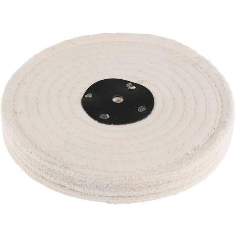 Tampon de polissage en coton cousu, RS PRO, 3 sections, 8pouce
